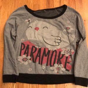 Gray Paramore Sweater